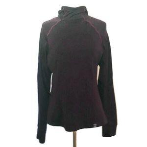 Sugoi Burgundy Hooded Running/Cycling Jacket